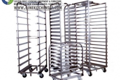 bread trolley stainless steel kitchenset