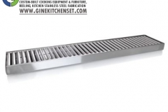gutter grill stainless steel