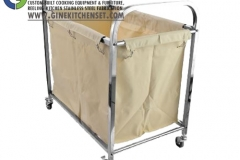 laundry trolley stainless steel
