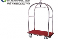 trolley bellboy stainless steel