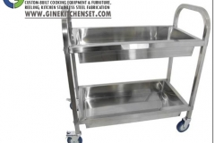 trolley service stainless steel