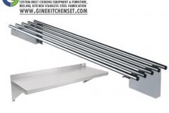 wall shelf stainless steel