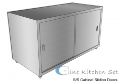 Cabinet - Gine kitchen set production - Pusat fabrikasi stainless di Bali