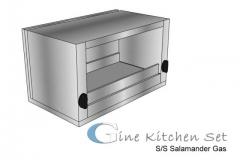 Salamander - Gine kitchen set production - Pusat fabrikasi stainless di Bali