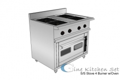 Stove oven - Gine kitchen set production - Pusat fabrikasi stainless steel di Bali