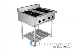 Stove - Gine Kitchen set production - Pusat fabrikasi stainless steel di Bali