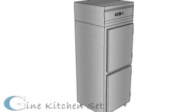 Upright 2D - Gine kitchen set production - Produksi stainless di Bali