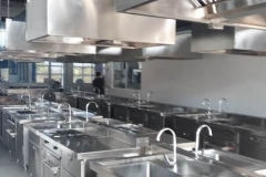 Gine kitchen set production for Batam Tourism Politechic