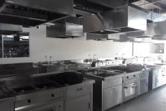 Kitchen set stainless steel for modern living
