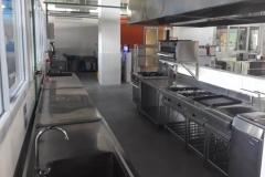 Kitchen set stainless steel untuk restaurant dan hotel