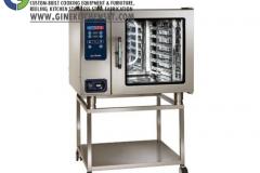 combi steamer gine kitchenset, denpasar, stainless steel;