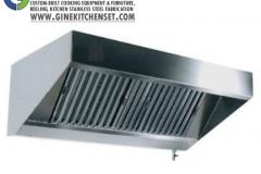 exhaust hood gine kitchen set production