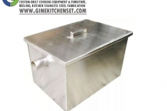 grease trap stainless steel gine kitchenset