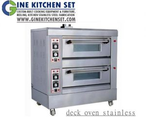 deck oven gine kitchenset production