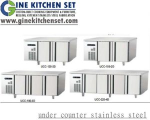 under counter stainless steel